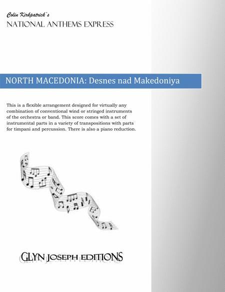 Republic of Macedonia National Anthem: Desnes nad Makedoniya