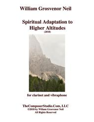 Spiritual Adaptation to Higher Altitudes for clarinet and vibraphone