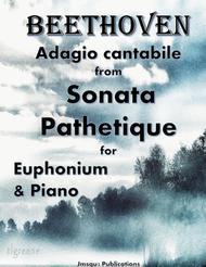 Beethoven: Adagio from Sonata Pathetique for Euphonium & Piano