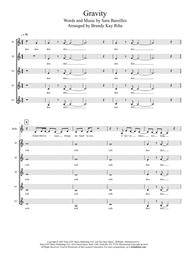 Gravity (SSSAA a cappella)