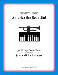 America the Beautiful - Trumpet and Piano
