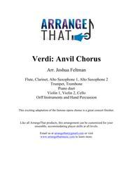 Verdi: Anvil Chorus (Elementary)
