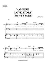 Vampire Love Story (from CREATIVES)