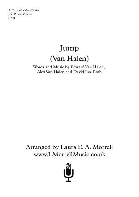 Jump : 3 Part Mixed : a cappella Trio SAB