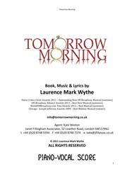 TOMORROW MORNING - PIANO VOCAL SCORE