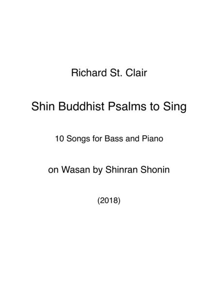 Preview Shin Buddhist Psalms To Sing, For Bass Voice With