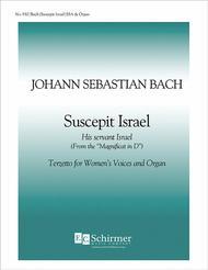 Magnificat: Suscepit Israel (His Servant Israel), BWV 243