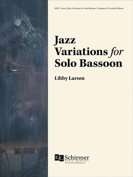 Jazz Variations for Solo Bassoon