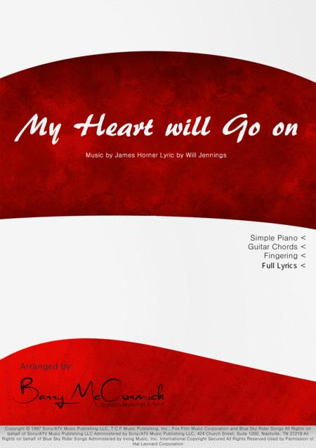 Download My Heart Will Go On | Celine Dion | Simple Piano Sheet
