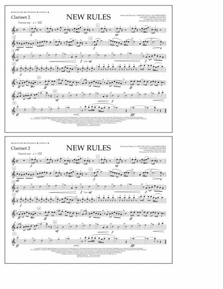 New Rules - Clarinet 2