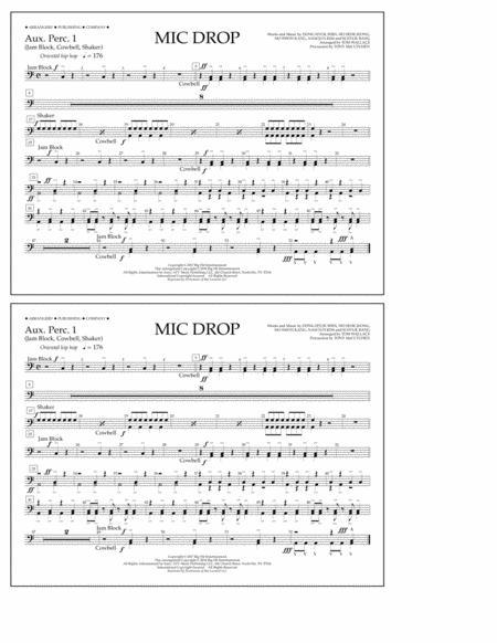 Mic Drop - Aux. Perc. 1
