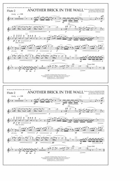 Another Brick in the Wall - Flute 2