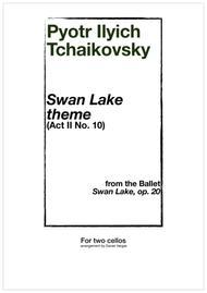 Swan Lake theme, for two cellos