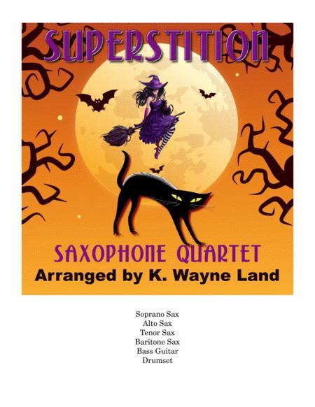 Superstition (For Sax Quartet)