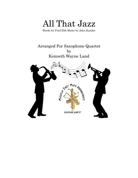All That Jazz (Vocal Solo w/ Saxophone Quartet)