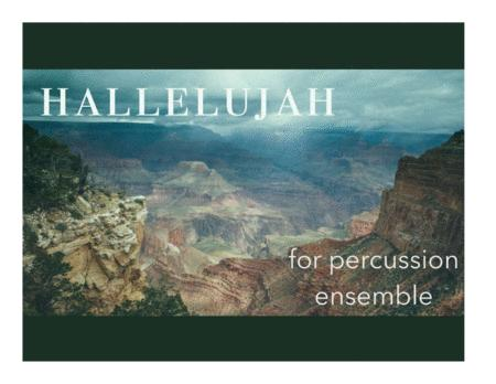 Hallelujah (Leonard Cohen) for Percussion Ensemble