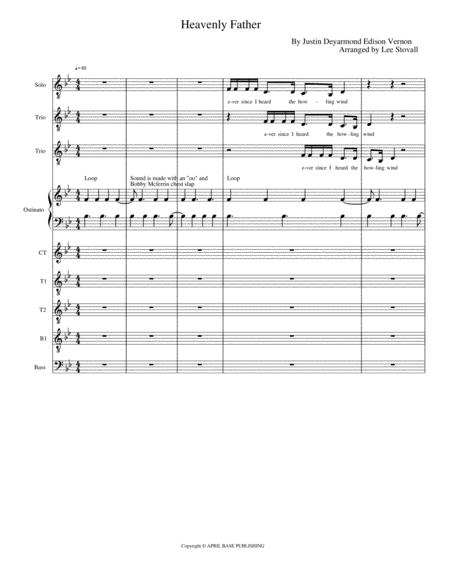 Download Heavenly Father Sheet Music By Bon Iver Sheet