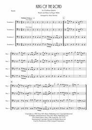 King Of The Road for Trombone Quartet