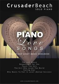 Piano Love Songs - CrusaderBeach - Romantic Piano Solo Songbook