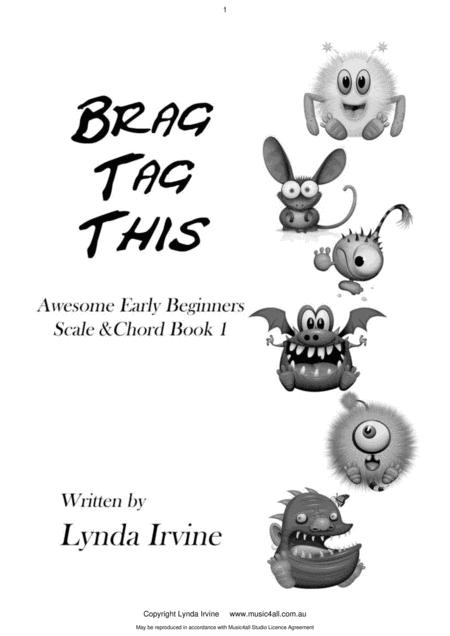 Download Brag Tag This Early Beginner Scale Chord Book Sheet Music