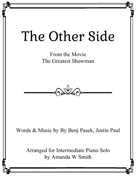 The Other Side from The Greatest Showman, Intermediate Piano Solo