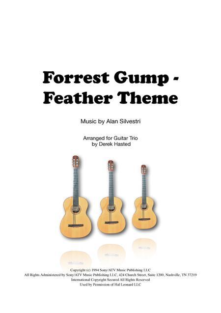 Forrest Gump Feather Theme  for 3 guitars/large ensemble