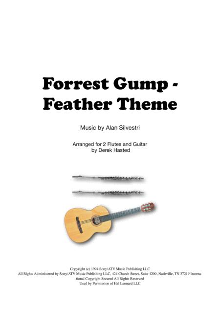 Forrest Gump Feather Theme for 2 flutes & classical guitar