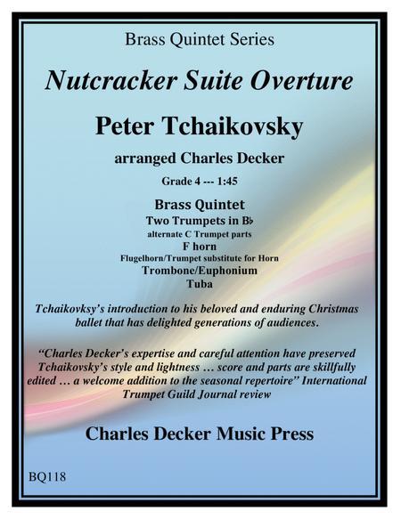 Nutcracker Suite Overture for Brass Quintet