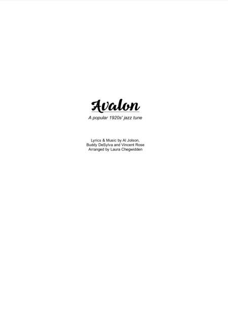 Avalon for Eclectic String Ensemble