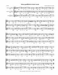 Missa quodlibetica trium vocum (Luython) — SSA or SST