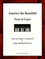 America the Beautiful - Piano & Organ Duet