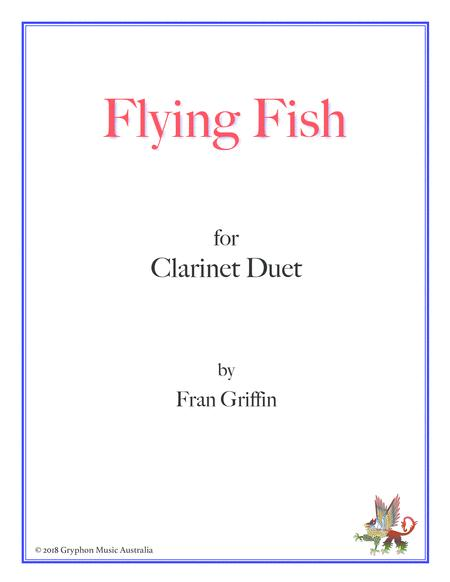 Flying Fish for clarinet duet