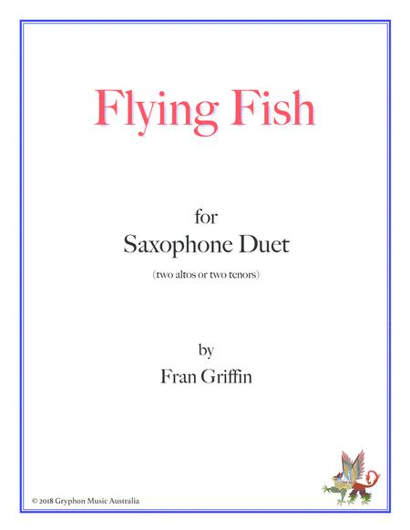 Flying Fish for sax duet