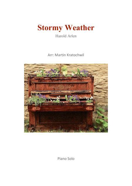 Download Stormy Weather Sheet Music By Lena Horne Sheet Music Plus
