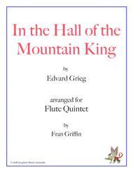 In the Hall of the Mountain King (arranged for flute quintet)
