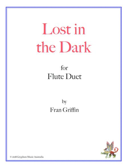Lost in the Dark for flute duet