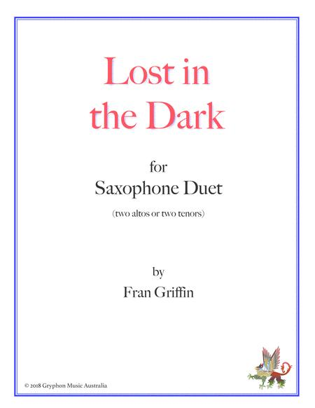 Lost in the Dark for sax duet