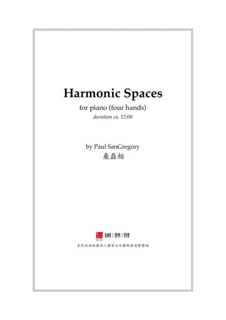 Harmonic Spaces (four-hands piano)