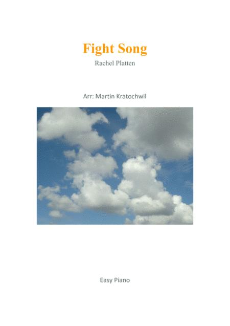 Fight Song ( easy piano )