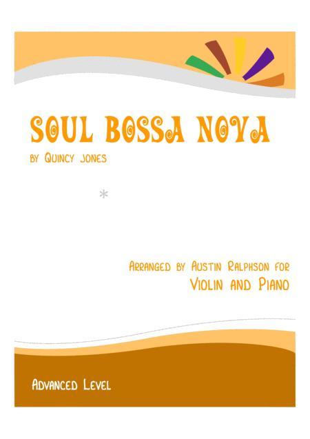Soul Bossa Nova - violin and piano