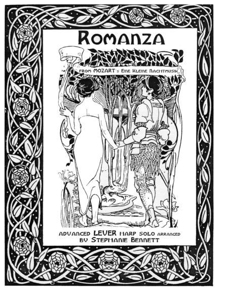Romanza from Eine Kleine Nachtmusik (LEVER harp version)