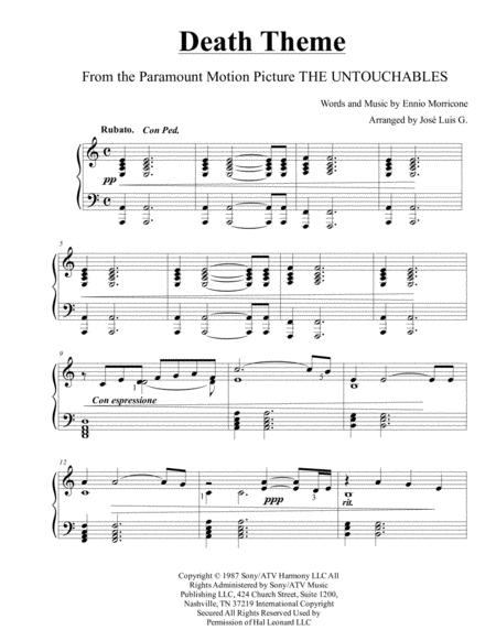 Death Theme  from the Paramount Motion Picture THE UNTOUCHABLES