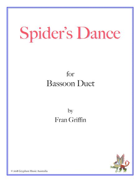 Spider's Dance for bassoon duet
