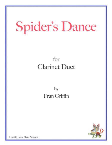 Spider's Dance for clarinet duet