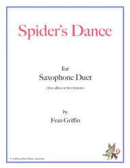 Spider's Dance for saxophone duet (two altos or two tenors)