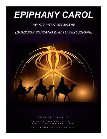Epiphany Carol (Duet for Soprano and Alto Saxophone)
