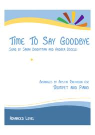 Time To Say Goodbye (Con te partirò) - trumpet and piano