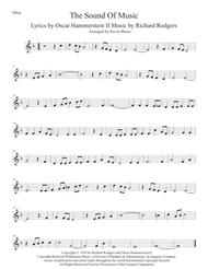 The Sound Of Music (Original key) - Oboe