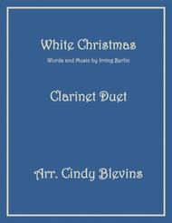 White Christmas, for Clarinet Duet