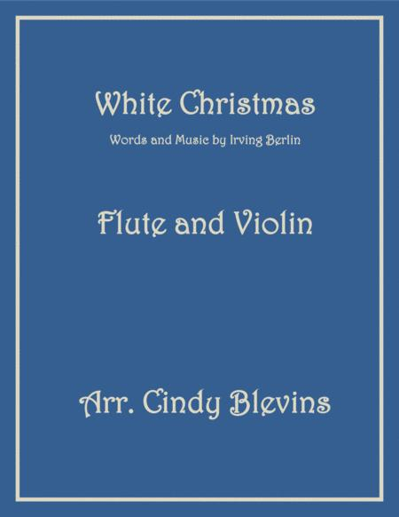 White Christmas, for Flute and Violin